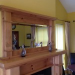 The bar at Seaview Guesthouse