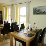 The dining room at Seaview Guesthouse
