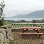Panoramic views from the picnic area at Seaview Guesthouse