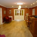 The foyer at Seaview Guesthouse